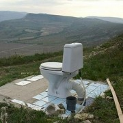 mountain-toliet